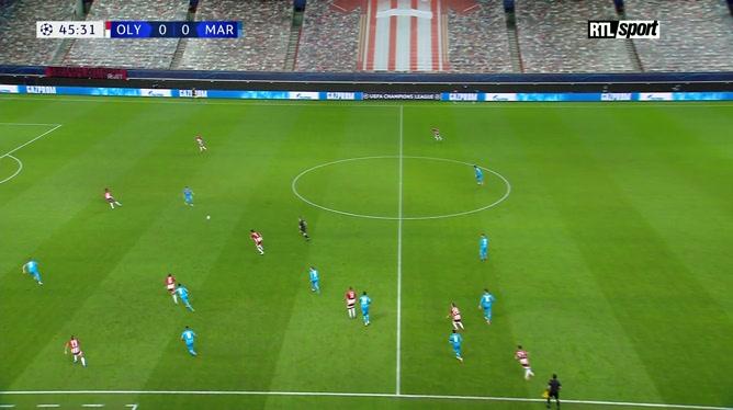Ligue des champions: Olympiacos 1 - 0 Olympique de Marseille
