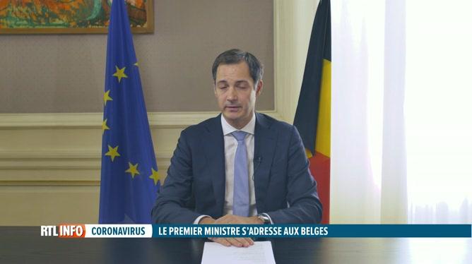 Covid-19: discours du premier ministre Alexander De Croo à la nation