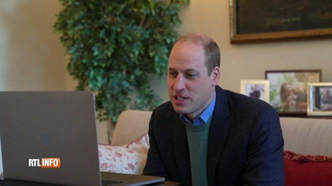 Vaccin contre le coronavirus: le prince William félicite les chercheurs d'Oxford pour leur