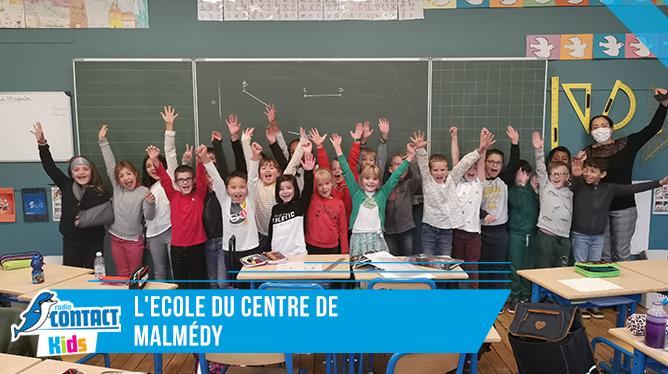 Contact Kids à l'Ecole du Centre de Malmedy
