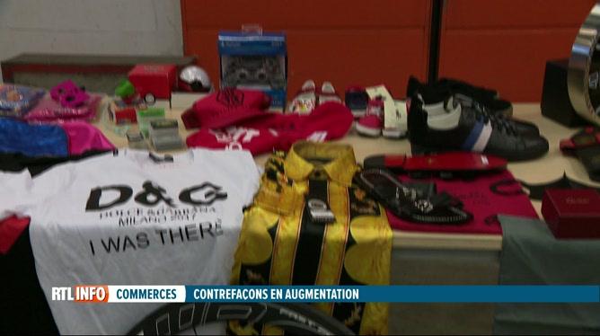 Le nombre de contrefaçons vendues sur internet est en hausse