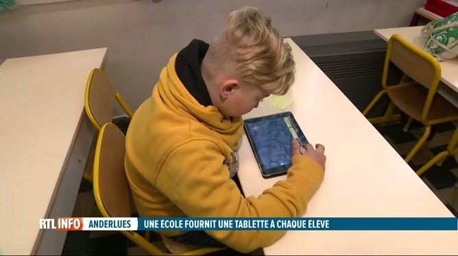 Une école d'Anderlues a réussi à offrir une tablette à chaque élève