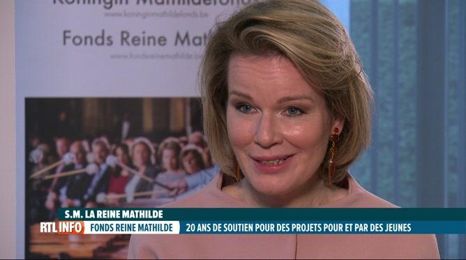 Interview exclusive de la Reine Mathilde pour les 20 ans du