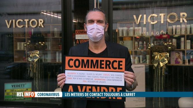 Coronavirus: les métiers de contact doivent rester à l'arrêt