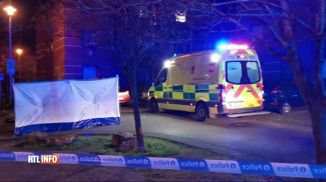 Un homme tué d'un coup de couteau à la gorge, hier soir à Jumet