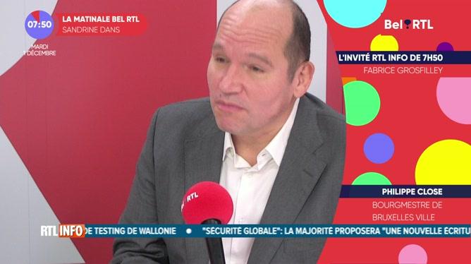 Philippe Close est l'invité RTL Info de 7h50 de ce mardi 1 décembre