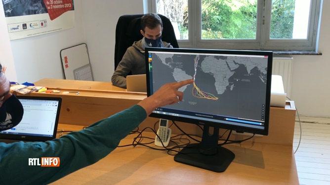 Une société belge apporte son expertise au Vendée Globe pour la météo