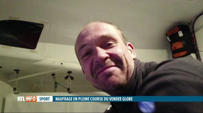 Vendée Globe: Kevin Escoffier secouru par Le Cam