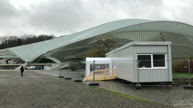 Des centres de test pour piétons à Liège
