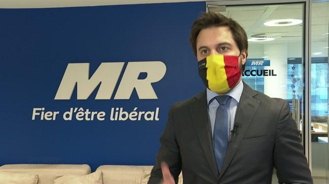 La réaction de G.L. Bouchez, président du Mouvement Réformateur.