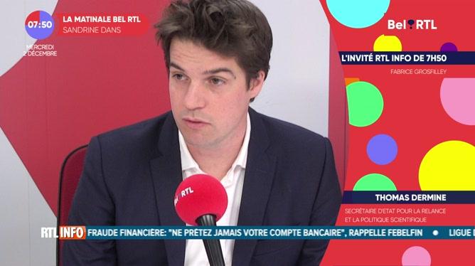 Thomas Dermine est l'invité RTL Info de 7h50