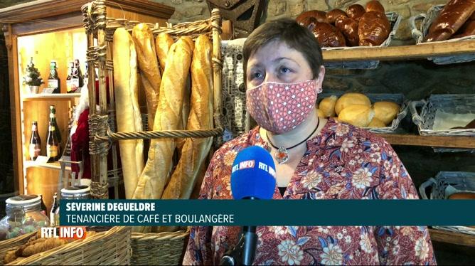 Séverine transforme son café en boulangerie pour survivre durant la crise