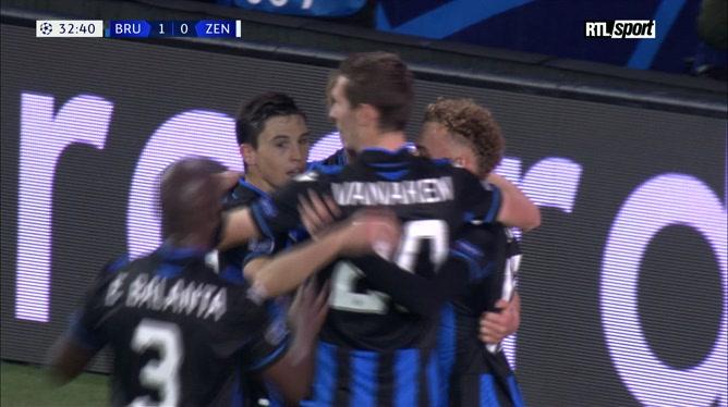 Club Bruges - Zenit: Charles De Ketelaere ouvre le score! (vidéo)