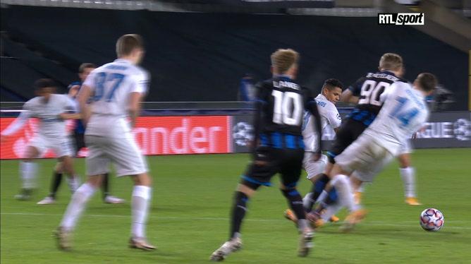 Club Bruges - Zenit (2-0): Vanaken double la mise pour les Brugeois (vidéo)