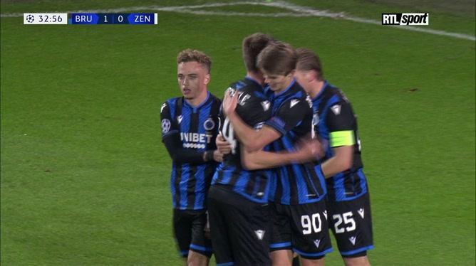Résumé Club Bruges - Zenit