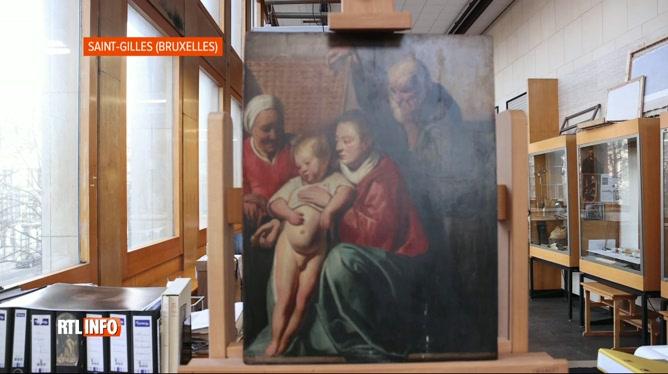L'œuvre de Jacques Jordaens retrouvée dans l'hôtel de ville de Saint-Gilles authentifiée