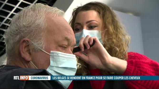 Coronavirus: afflux de Belges chez les coiffeurs français qui ont rouvert