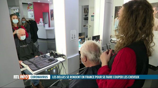 Covid-19: afflux de Belges chez les coiffeurs français qui ont rouvert