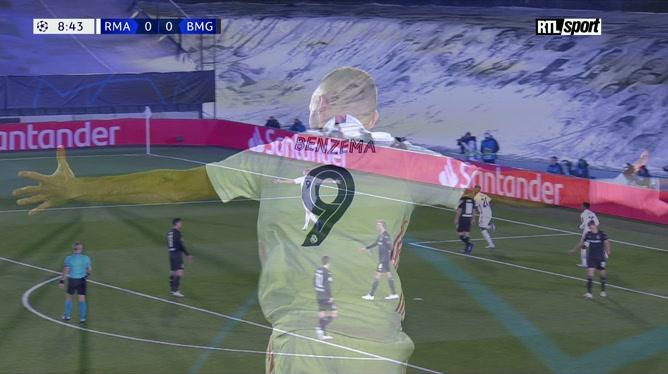 Ligue des champions: Real Madrid 2 - 0 Borussia Mönchengladbach