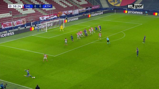 Ligue des champions: RB Salzbourg 0 - 2 Atlético Madrid