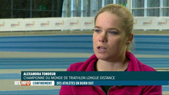 Covid-19 & sport: témoignage d'Alexandra Tondeur, triathlète à l'arrêt