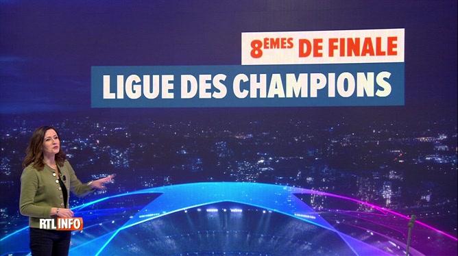 Ligue des Champions : l'affiche des 8èmes de finale