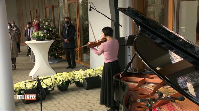 Concert de la Chapelle musicale reine Elisabeth en présence de la reine Mathilde