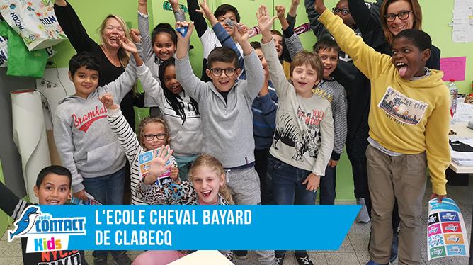 Contact Kids à l'Ecole Cheval Bayard de Clabecq
