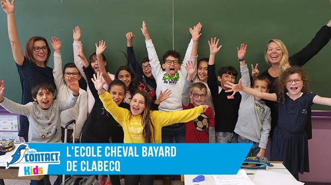 Contact Kids à l'Ecole Cheval Bayard de Clabecq (Classe 2)