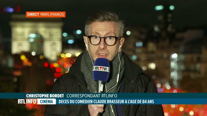 Décès de Claude Brasseur : le point avec Christophe Bordet