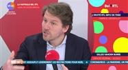 Gilles Vanden Burre- L'invité RTL Info de 7h50 du 23 décembre
