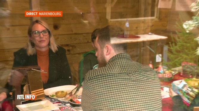 Des chalets transformés en mini-restaurants à Mariembourg