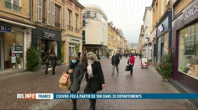 Un couvre-feu dès 18h00 dans l'est de la France dès le 2 janvier; réactions