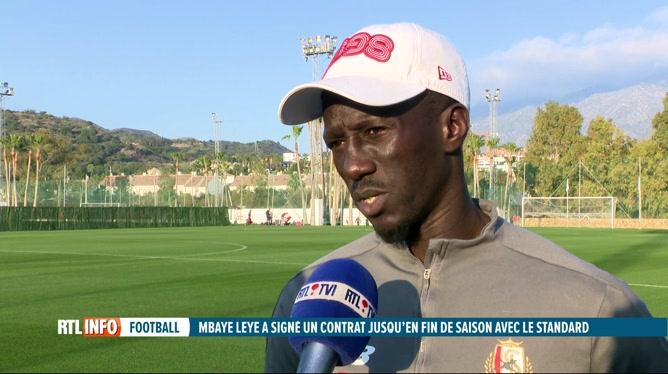 Football: Mbaye Leye est le nouvel entraîneur du Standard