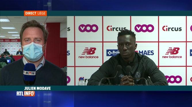 Première conférence de Mbaye Leye, le nouveau coach du Standard
