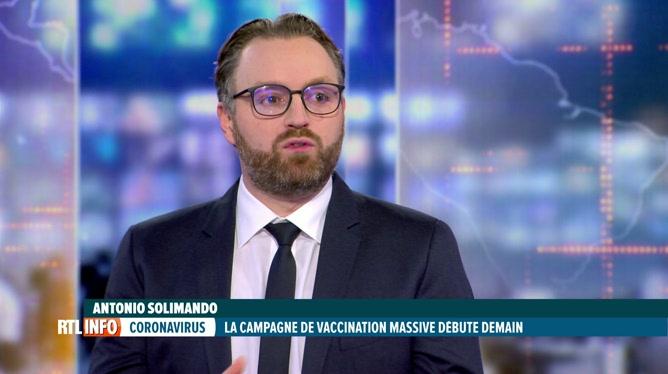 Analyse d'Antonio Solimando à propos du retard belge dans les vaccinations
