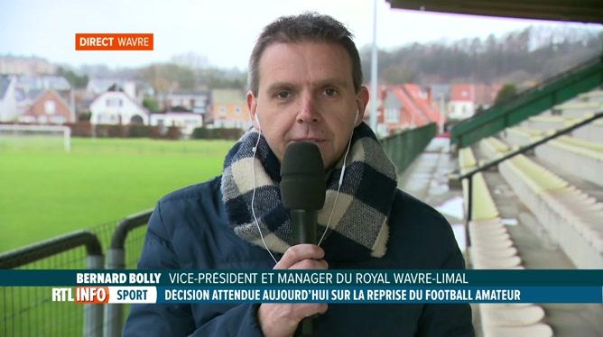 Coronavirus: l'Union belge se penche sur l'avenir du football amateur