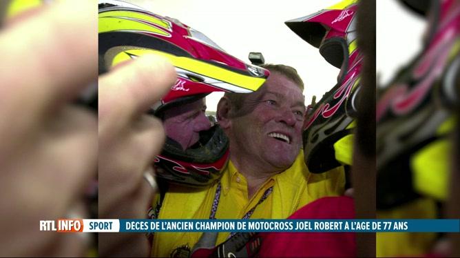 Décès de Joël Robert, sextuple champion du monde de motocross