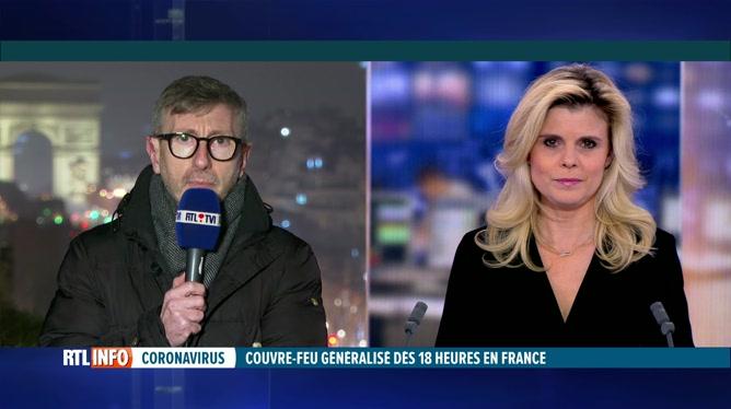 Coronavirus: un couvre-feu généralisé à 18 heures dans toute la France