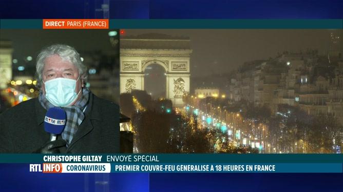Coronavirus: ambiance à Paris où le couvre-feu est en vigueur depuis 18h