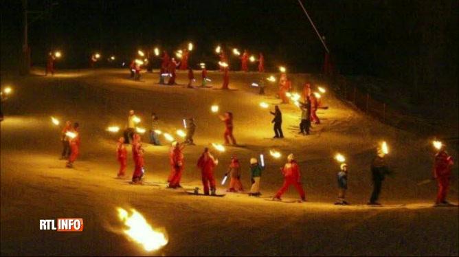 Action symbolique en France pour soutenir le secteur des sports d'hiver