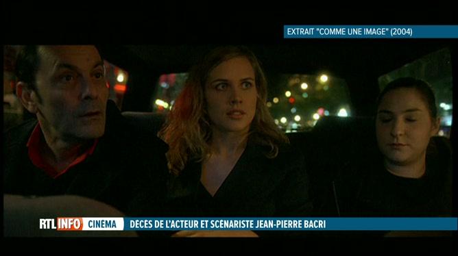 L'acteur français Jean-Pierre Bacri est décédé d'un cancer