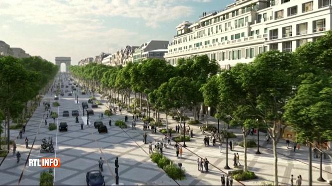 L'avenue des Champs-Elysées va radicalement changer