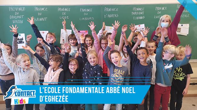 Contact Kids à l'Ecole Abbé Noel d'Eghezée