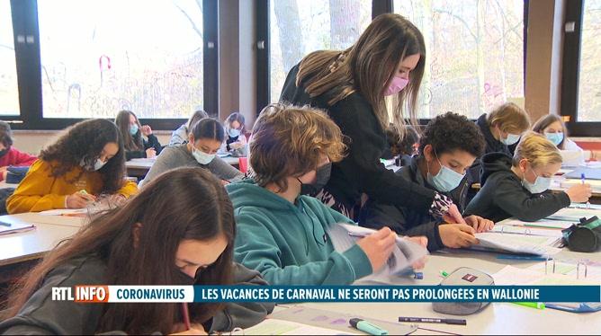 Coronavirus: les élèves flamands  à la maison une semaine avant le carnaval