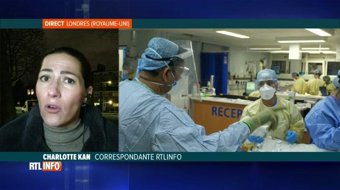 Coronavirus: le variant met le système hospitalier anglais sous pression
