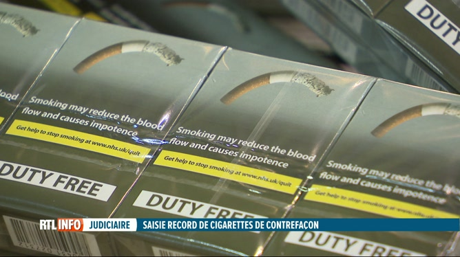120 tonnes de tabac contrefait ont été saisis dans 4 entrepôts
