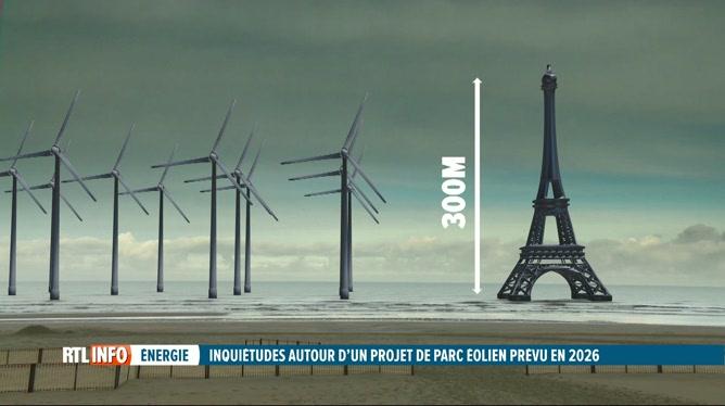 La côte belge défigurée par un parc éolien au large de Dunkerque?