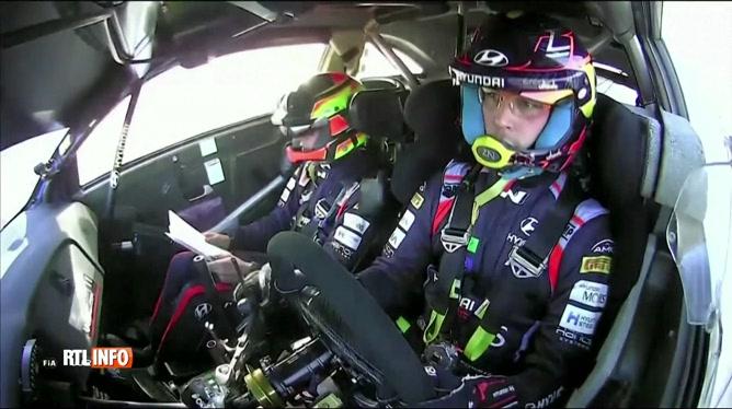 Rallye de Monte-Carlo: Thierry Neuville termine à la troisième place