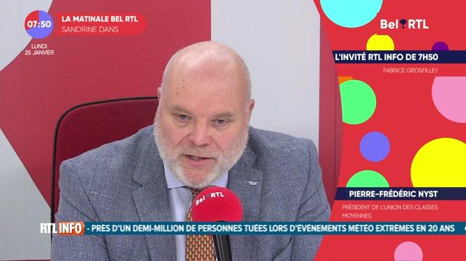 Pierre–Frédéric Nyst - L'invité RTL Info de 7h50